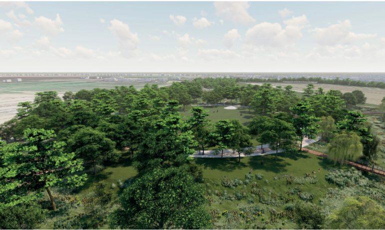 Visualisations du cœur de parc - Copyright : LAP'S